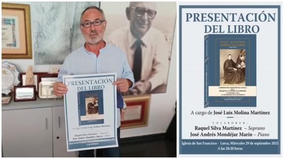 TARDE ABIERTA. Antonio Manzanera recopila y publica biografías de músicos lorquinos
