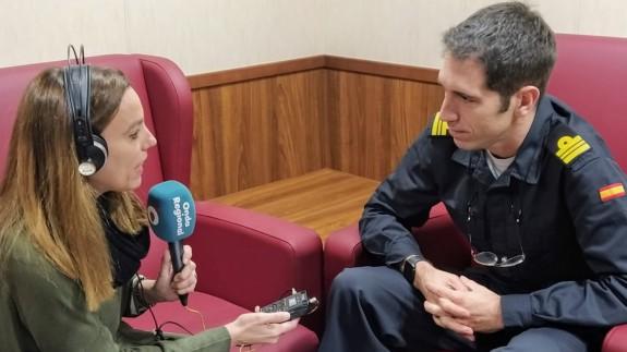 Silvia Mateo entrevista a Santiago Santamaría, comandante del Audaz