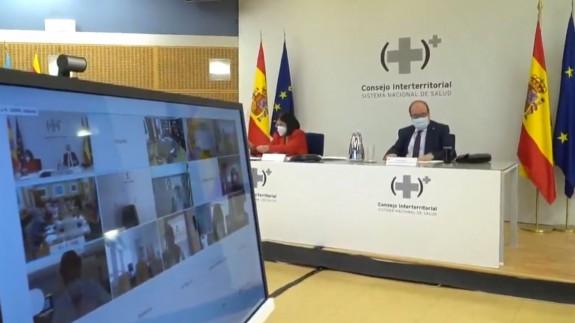Reunión del Consejo Interterritorial de Salud. MONCLOA