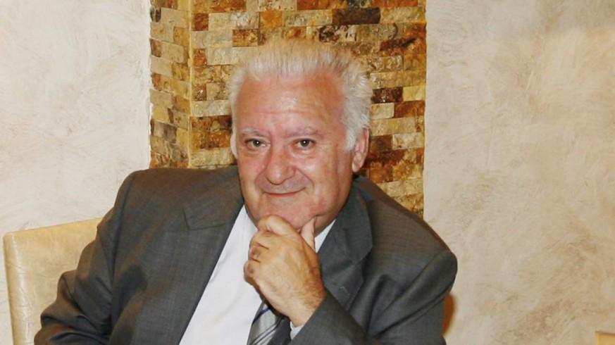 Juan Antonio Calvo, el día de su jubilación