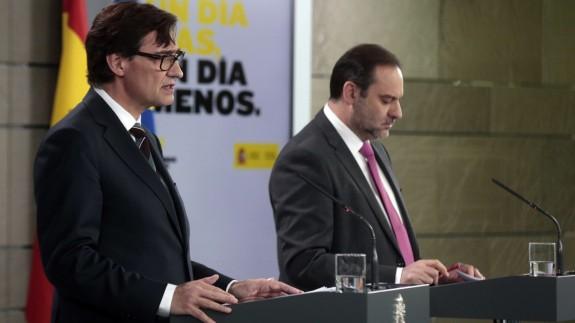 EN DIRECTO | Rueda de prensa de los ministros Salvador Illa y José Luis Ábalos