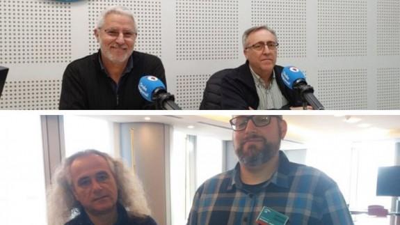 Pérez Ruzafa y Erena en Onda Regional, García y Luengo en Bruselas