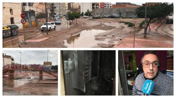 los testimonios de la gente sobre cómo les ha afectado la lluvias.