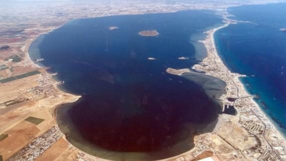Vista aérea del Mar Menor. AYUNTAMIENTO DE CARTAGENA