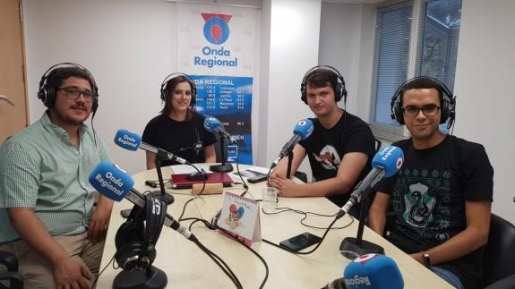 Joaquín Cruces, Ángeles Fontcuberta, Mariano Fernández y José Antonio Toral.