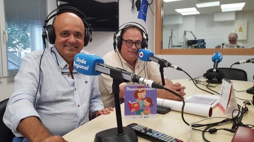 Andrés Iborra y Andrés Carrillo en Onda Regional