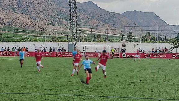 El Imperial se lleva el derbi ante el Ciudad de Murcia en el último minuto (1-0)