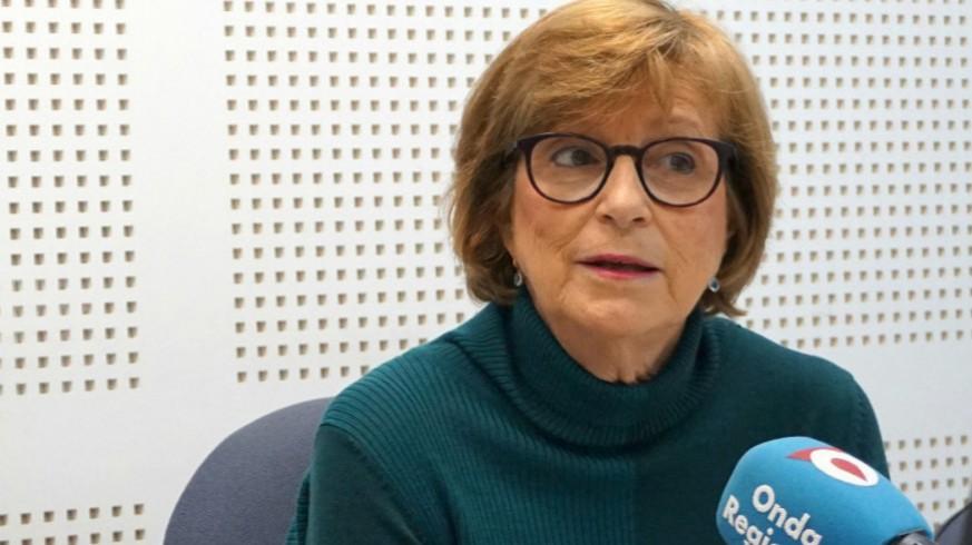 Amparo Marzal, presidenta de UNICEF en Murcia, en una imagen de archivo de Onda Regional