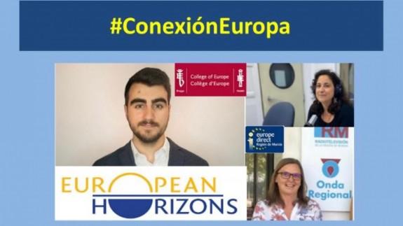 NO ES UN VERANO MÁS. Conexión Europa. Carlos Martínez, presidente en funciones de European Hrizons, inicia sus estudios en el Colegio de Europa en Brujas