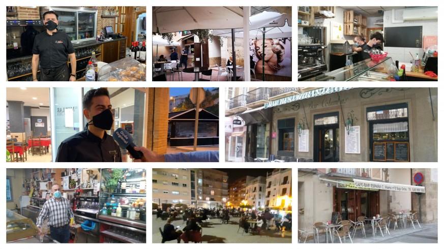 fotografías de los diferentes bares de la Región en la noche del viernes 6 de noviembre