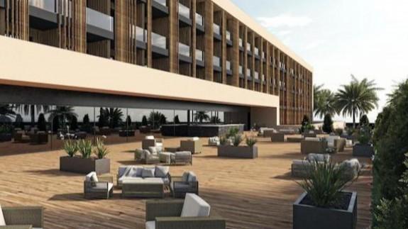 Recreación del proyecto de hotel