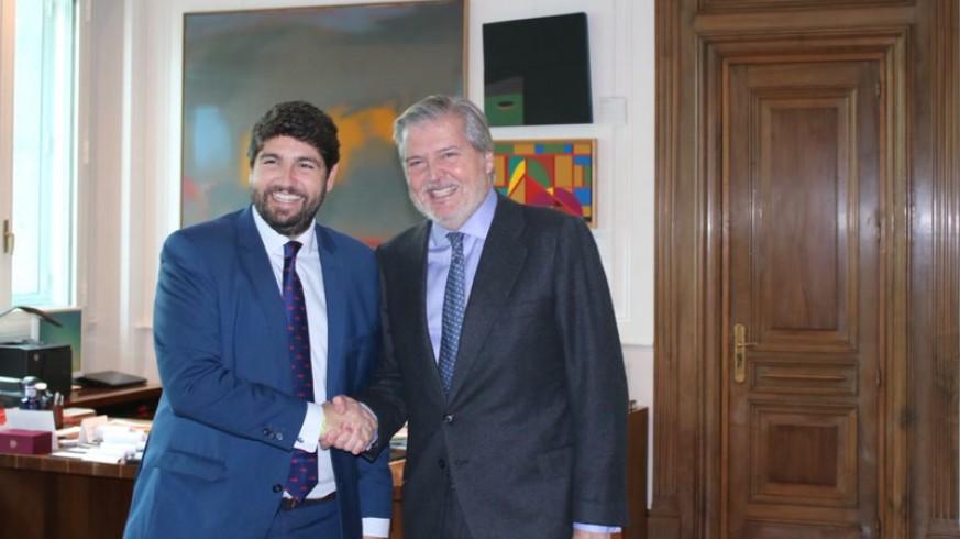 López Miras con Méndez de Vigo