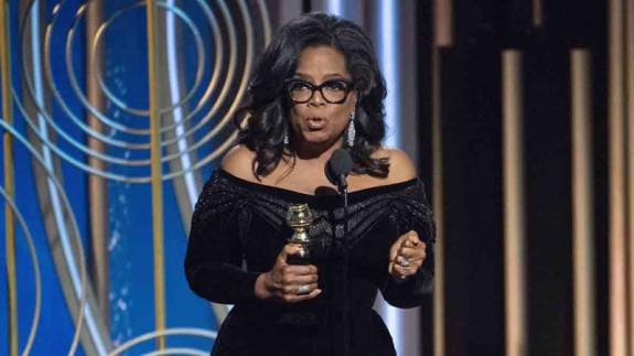 LA RADIO DEL SIGLO. ¿Quién dijo miedo? El discurso de Oprah Winfrey en los Globos de Oro