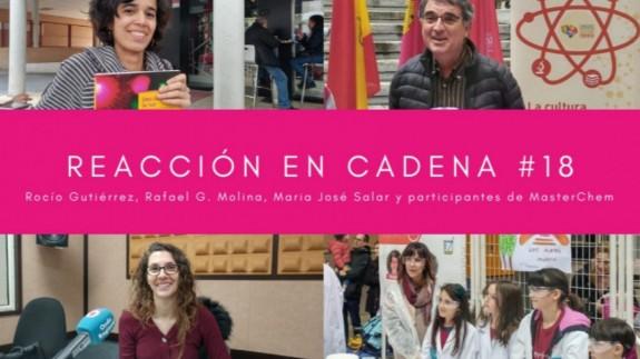Rocío Gutiérrez, Rafael G. Molina, Maria José Salar y el equipo de los Álamos en MasterChem