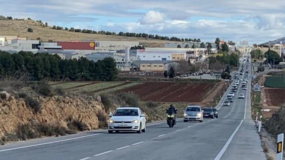 Carretera de Caravaca a Barranda
