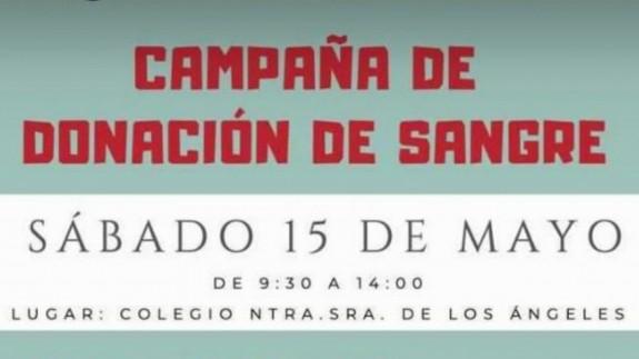 EL MIRADOR. Jornada de donación de sangre en el colegio Nuestra Señora de los Ángeles de Sangonera