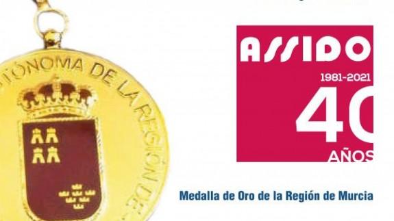 EL ROMPEOLAS. Será noticia. ASSIDO recibirá la Medalla de Oro en el Día de la Región