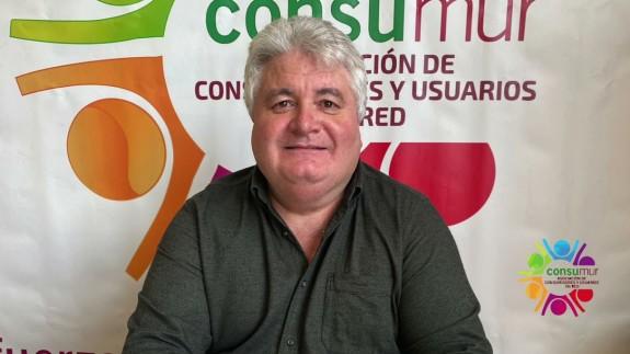 Roberto Barceló, presidente de CONSUMUR