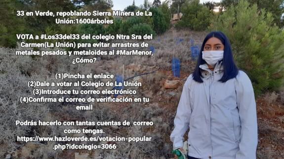 EL ROMPEOLAS. 'Las 33 del 33', un proyecto en apoyo a la Sierra Minera