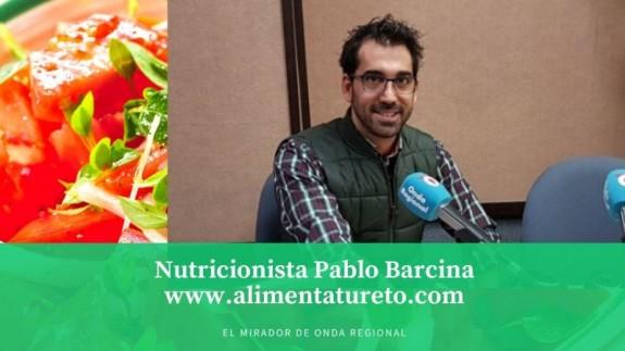 MIRADOR. Nutricionista Pablo Barcina