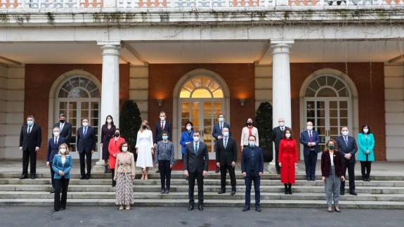 Nueva foto de familia del Consejo de Ministros