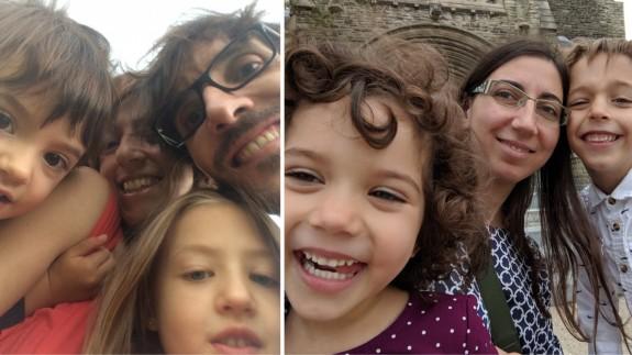 Las familias de Jorge Fuentes (izquierda) y Águeda Gallego (derecha) tuvieron que cancelar sus viajes desde México y Canadá