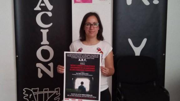 Cristina Ortín de la Asociación ARY