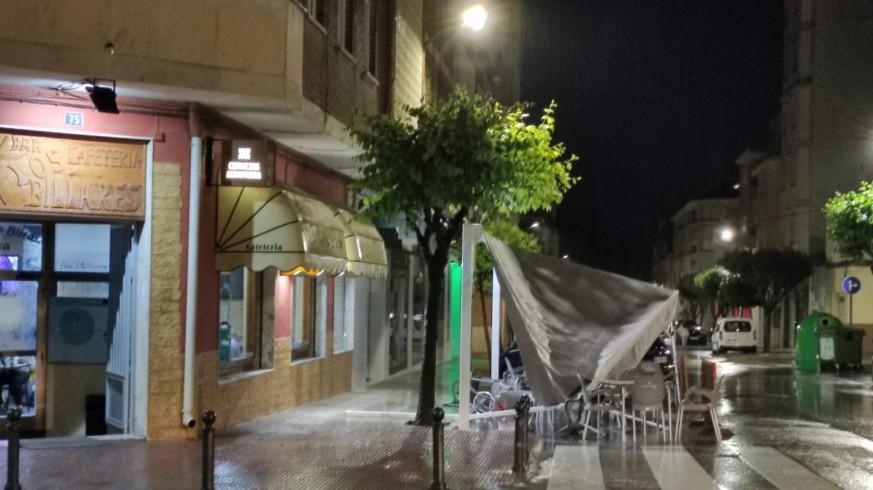 Entre 50 y 120 litros dejó la tormenta del sábado en Yecla sin causar daños personales