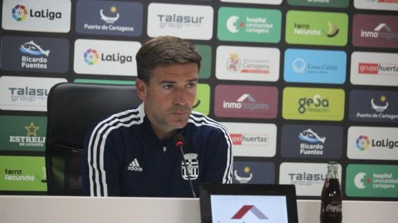 """Luis Carrión: """"Dando todo lo que tenemos, y más, ganaremos muchos partidos este año"""""""
