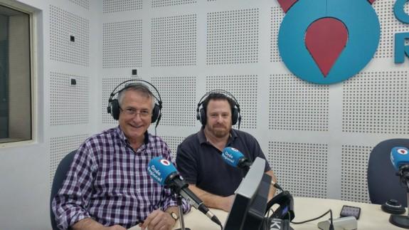 Miguel Massotti y Antonio Rentero en Onda Regional