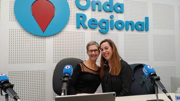 Fuensanta Pérez Alcázar y Laura Martínez-Alarcón