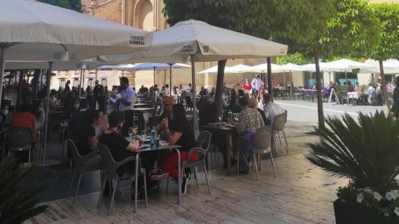 Terraza en el municipio de Murcia
