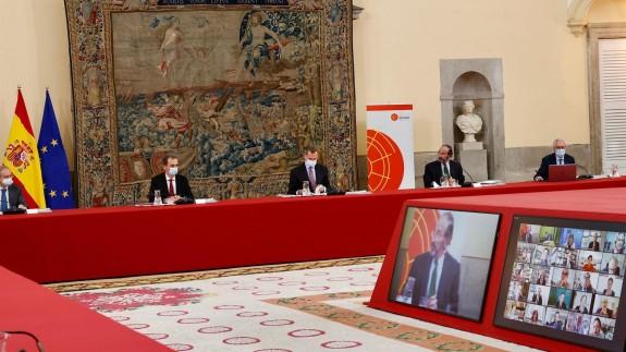 reunión del Consejo Científico del Real Instituto Elcano de Estudios Internacionales y Estratégicos
