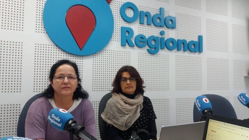 Pilar Pelegrín y Clara Alarcón en Onda Regional