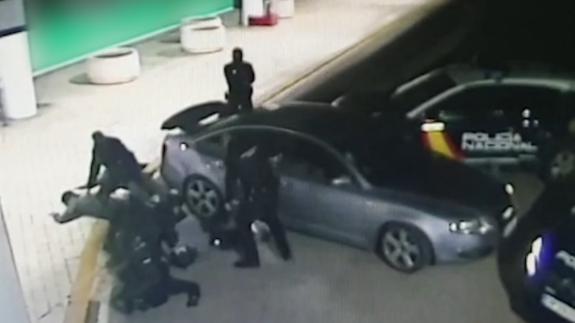 Desarticulado un grupo de aluniceros por robos en tiendas de móviles de 13 provincias, entre ellas Murcia
