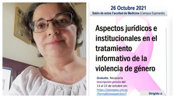 """TURNO DE NOCHE. Martínez: """"La violencia de género no se debe abordar como un suceso más"""""""