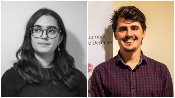 Claudia Mayordomo y Alejandro del Río