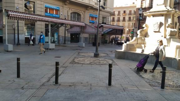 Imagen de la plaza Santa Catalina en Murcia. Foto: José Antonio Martínez