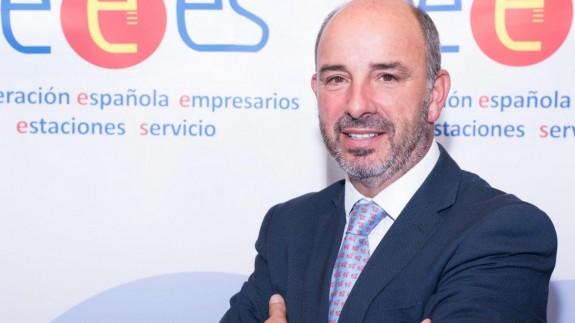 Jorge de Benito. Presidente. Confederación de Empresarios de Estaciones de Servicio