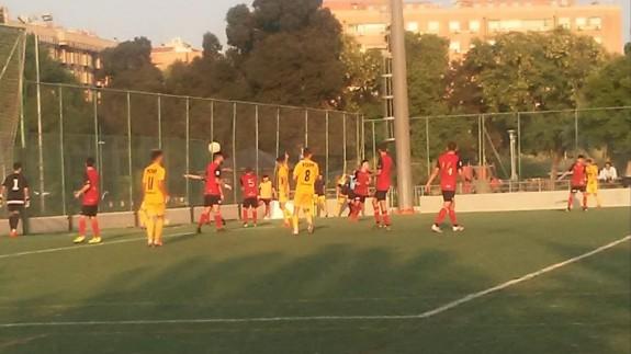 Tablas entre Ciudad de Murcia y UCAM B| 1-1