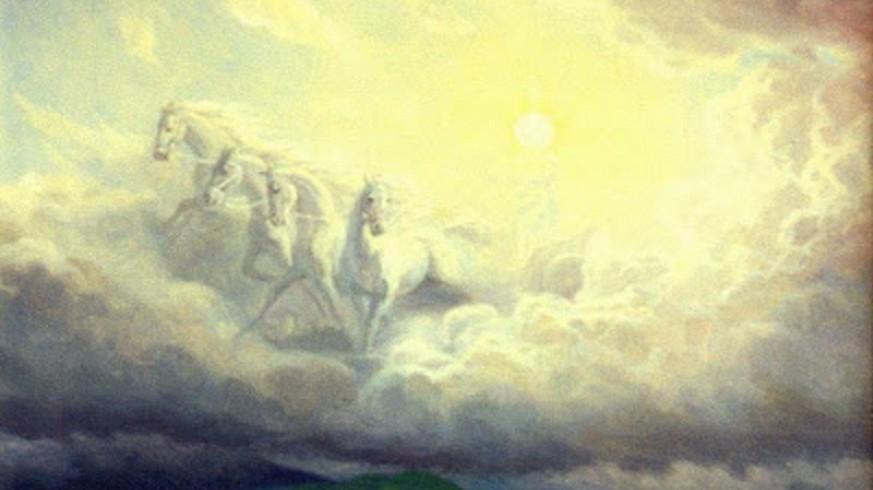 El dios Helios según Panasenko. Foto Wikipedia