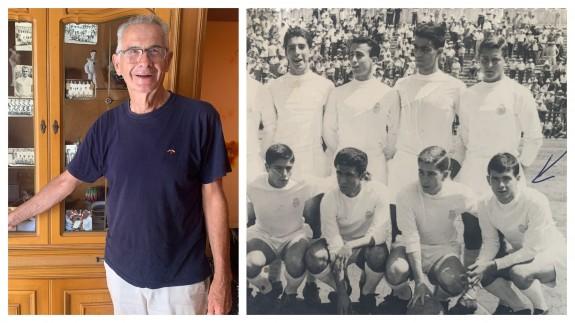 EL MIRADOR. Paco Nieto, el ex futbolista del Real Madrid que hizo amistad con Julio Iglesias