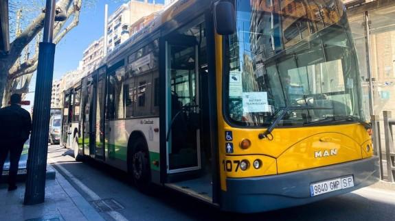 El sector del transporte urbano inicia movilizaciones en Murcia y Cartagena