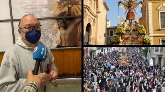 Pepe Balsalobre. Imágenes de la celebración en otros años. CLAUDIO CABALLERO