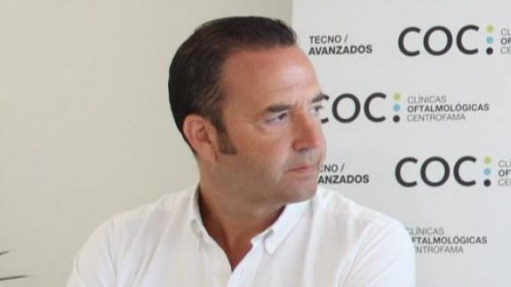 José Miguel Garrido, director de marketing del UCAM Murcia CB