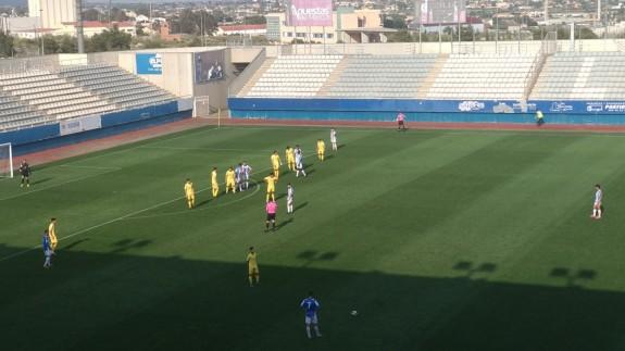Empate sin goles entre Lorca y Plus Ultra
