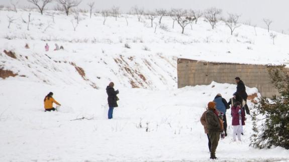 Acumulación de nieve en las zonas más altas del Noroeste.