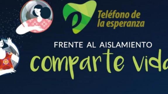 EL ROMPEOLAS. Crisis #coronavirus. 'Comparte vida' con el Teléfono de la Esperanza