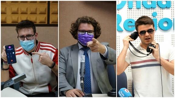Samuel Pérez, Kiko Torres y Rafael Fernández