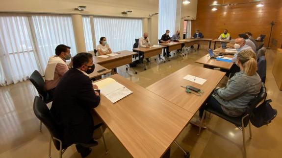 El Ayuntamiento de Murcia refuerza el dispositivo especial por fuertes lluvias